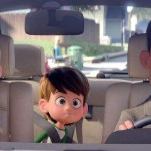 Cicogne in missione: una scena del film animato