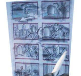 Justice League: uno storyboard