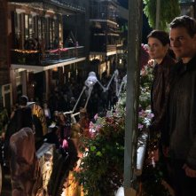 Jack Reacher: Never Go Back - Tom Cruise e Cobie Smulders in una foto del film