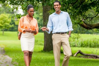 Southside with You: Tika Sumpter e Parker Sawyers in un momento del film