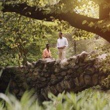 Southside with You: Tika Sumpter e Parker Sawyers in una scena del film