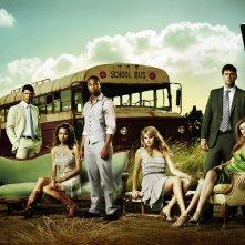 Friday Night Lights: un'immagine promozionale con il cast del teen drama