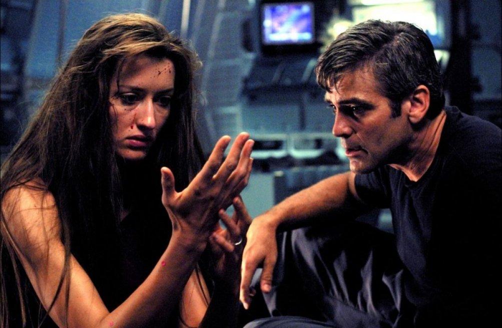Solaris: George Clooney e Natascha McElhone