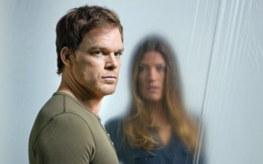 Michael C. Hall e Jennifer Carpenter in Dexter