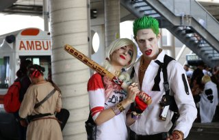 Romics 2016: cosplay ispirato a Suicide Squad