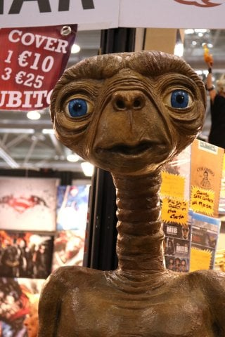 Romics 2016: un E.T. tra la folla