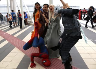Romics 2016: il mondo di Spiderman incontra quello de Il trono di spade