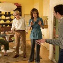 Crisis in Six Scenes: una scena di gruppo della miniserie con Woody Allen