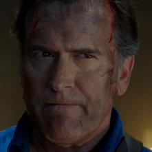 Ash vs Evil Dead: il protagonista Bruce Campbell in Home