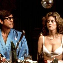 The Rocky Horror Picture Show: Susan Sarandon e Barry Bostwick in un momento del film