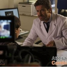 Attesa e cambiamenti: Paolo Conticini sul set del film
