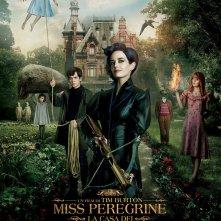 Locandina di Miss Peregrine – La casa per ragazzi speciali