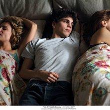 Qualcosa di nuovo: Micaela Ramazzotti, Eduardo Valdarnini e Paola Cortellesi in un momento del film