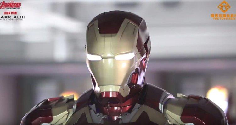Iron Man: l'incredibile armatura motorizzata in scala 1:1