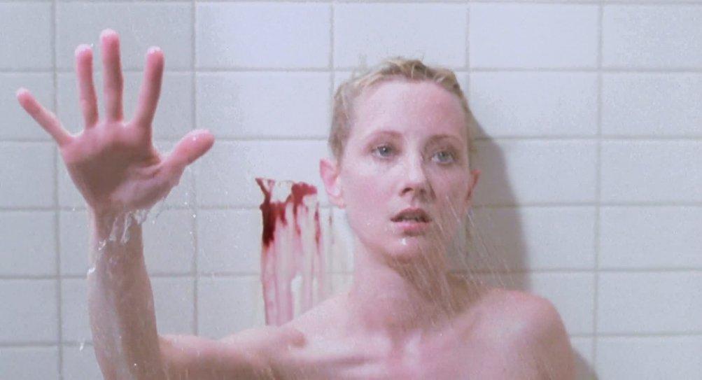 Anne Heche nel remake di Psycho