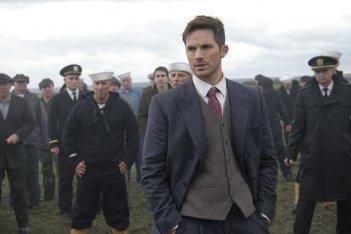 Timeless: l'attore Matt Lanter in una foto del pilot