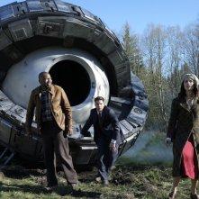 Timeless: i protagonisti Malcolm Barrett, Abigail Spencer e Matt Lanter