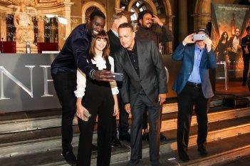 Inferno: foto e selfie per il cast a Firenze