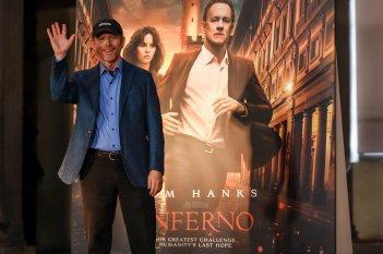 Inferno: Ron Howard saluta al stampa a Firenze