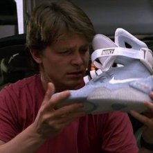 Ritorno al futuro parte II: Michael J. Fox con le Nike Mag