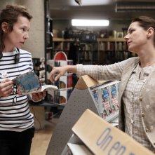 150 Milligrams: Sidse Babett Knudsen e la regista Emmanuelle Bercot sul set del film