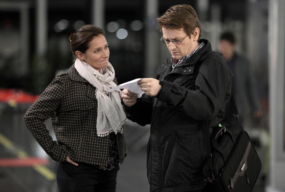150 Milligrams: Sidse Babett Knudsen e Benoît Magimel in una scena del film