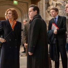 Denial: Rachel Weisz, Andrew Scott e Jack Lowden in un momento del film