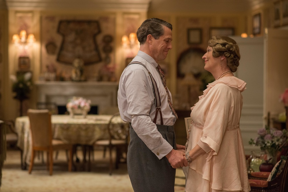 Florence: Meryl Streep e Hugh Grant in un momento del film