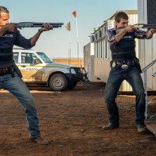 Goldstone: Alex Russell e Aaron Pedersen in una scena del film