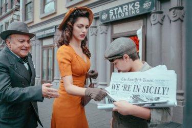 In guerra per amore: Miriam Leone in un momento del film