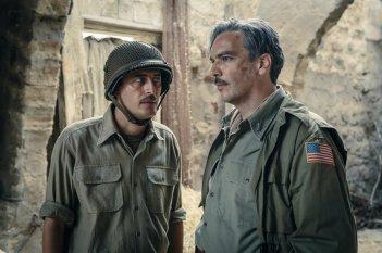 In guerra per amore: Pierfrancesco Diliberto e Andrea Di Stefano in un momento del film