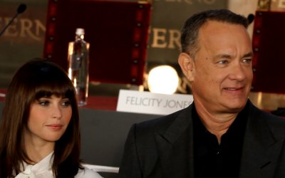Inferno: un giorno con Tom Hanks a Firenze
