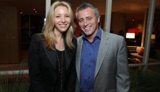 Lisa Kudrow e Matt LeBlanc in una foto che li ritrae insieme