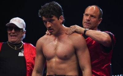 Bleed for This: Miles Teller e Aaron Eckhart sul ring a Londra