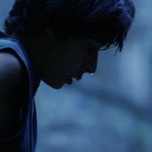 Boy on the Bridge: Constantinos Farmakas in una scena del film