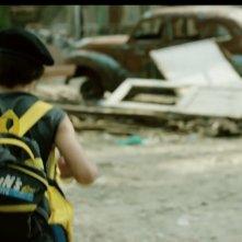 Boy on the Bridge: una scena del film