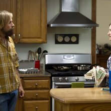 Captain Fantastic: Viggo Mortensen e Kathryn Hahn in una scena del film