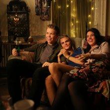 Kids in Love: Will Poulter, Alma Jodorowsky e Cara Delevingne in una scena del film