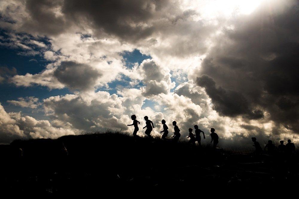 La guerra dei cafoni: una scena tratta dal film