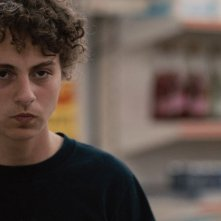 My First Highway: Aaron Roggeman in una scena del film