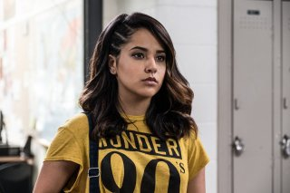 Power Rangers: una foto dell'attrice Becky G.