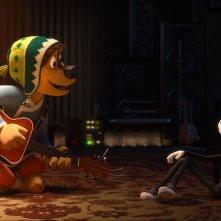 Rock Dog: una scena del film d'animazione
