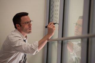 The Accountant: Ben Affleck in un momento del film