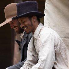 The Birth of a Nation: Nate Parker e Armie Hammer in una scena del film