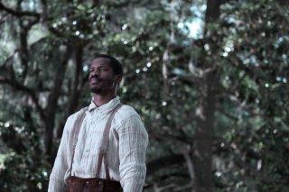The Birth of a Nation: Nate Parker in un'immagine del film