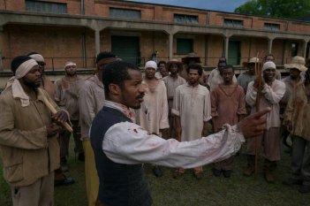 The Birth of a Nation: Nate Parker in un momento del film