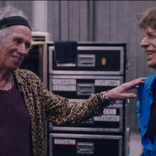 The Rolling Stones Olé, Olé, Olé!: A Trip Across Latin America, Mick Jagger e Keith Richards in un'immagine del documentario
