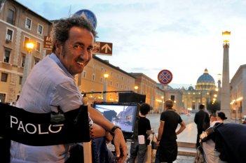 The Young Pope: Paolo Sorrentino sul set della serie