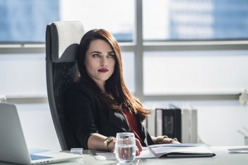Supergirl: una foto dell'attrice Katie McGrath in The Adventures of Supergirl