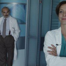Braccialetti Rossi: Andrea Tidona e Carlotta Natoli in una foto della serie